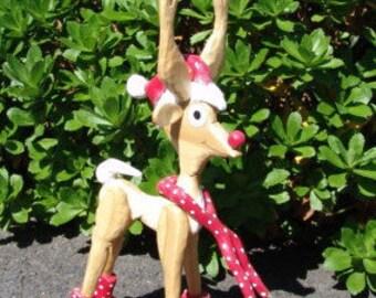 Rudie the Reindeer