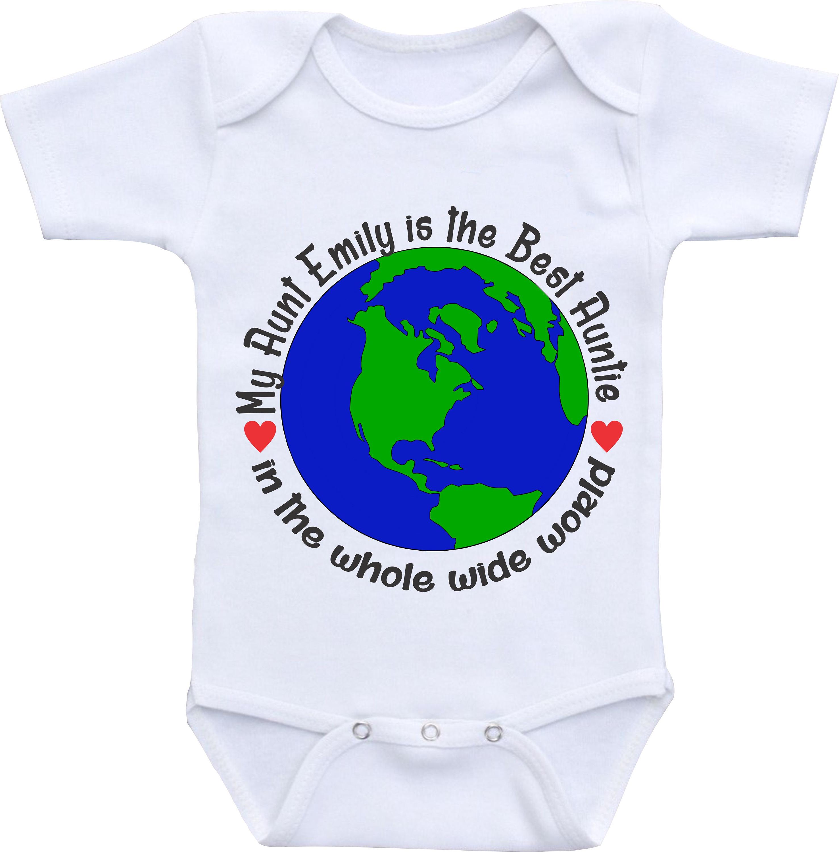 Best Auntie ever shirt best aunt onsies auntie onesie aunt and