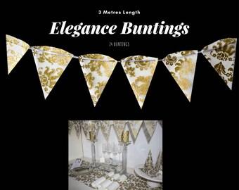 Gold Bunting (Elegance Design)