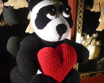 Lyli the Panda Crochet Pattern