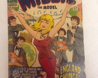 Millie the Model 1966 Comic Book