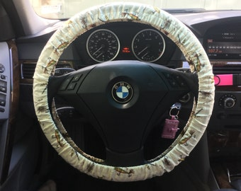 Fly Fishing Steering Wheel Cover