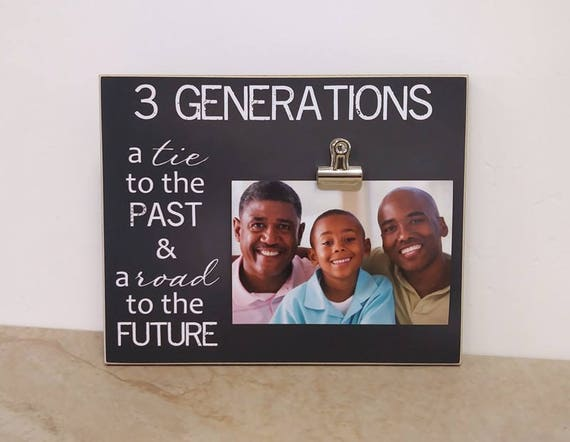 Three Generation Photo Frame, Mother Daughter Photo Frame, Father ...