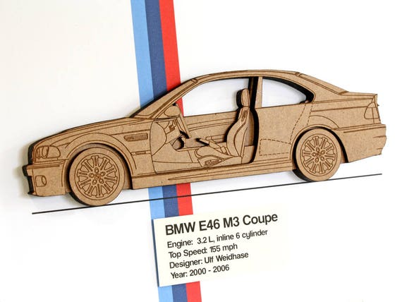 Bmw e46 m3 coupe bmw m3 blueprint lser de corte de madera malvernweather Image collections