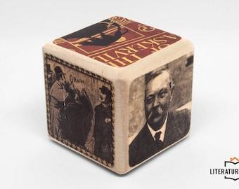 Writer's Block: Sir Arthur Conan Doyle (Sherlock Holmes)