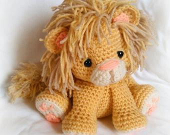 Lion Amigurumi To Go : Lion crochet pattern amigurumi patterns pdf tutorial tyrion