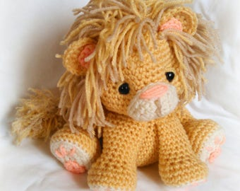 Lion CROCHET PATTERN; PDF