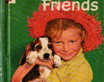 Our Animal Friends a Rand McNally Elf Book + Virginia Hunter + 1956 + Vintage Kids Book
