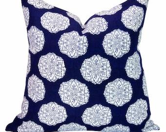 Ananda pillow cover in Indigo