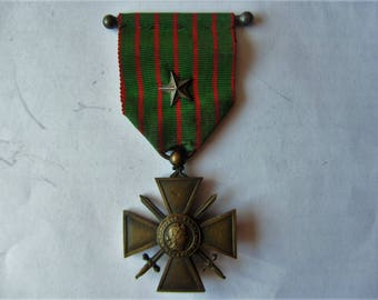 Medal military war 1914-1916 cross - 1 large star - MM41