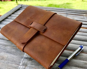 Refillable Journal // Writing Journal // Journals // Personalized Jounral // Leather Journal // Leather Notebook // Blank Book