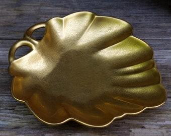 Pickard China Gold Leaf Dish