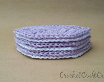 Crochet Coasters, Hexagon Coasters, Crochet Hexagon, Crochet Hexagon Coasters, Coasters, Gift For Mom, Gift for Women, Housewarming Gift
