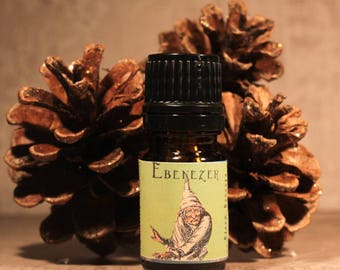 EBENEZER Artisan Perfume Oil, Christmas Perfume Oil, Holiday Fragrance, Winter Perfume, Handmade Perfume Oil