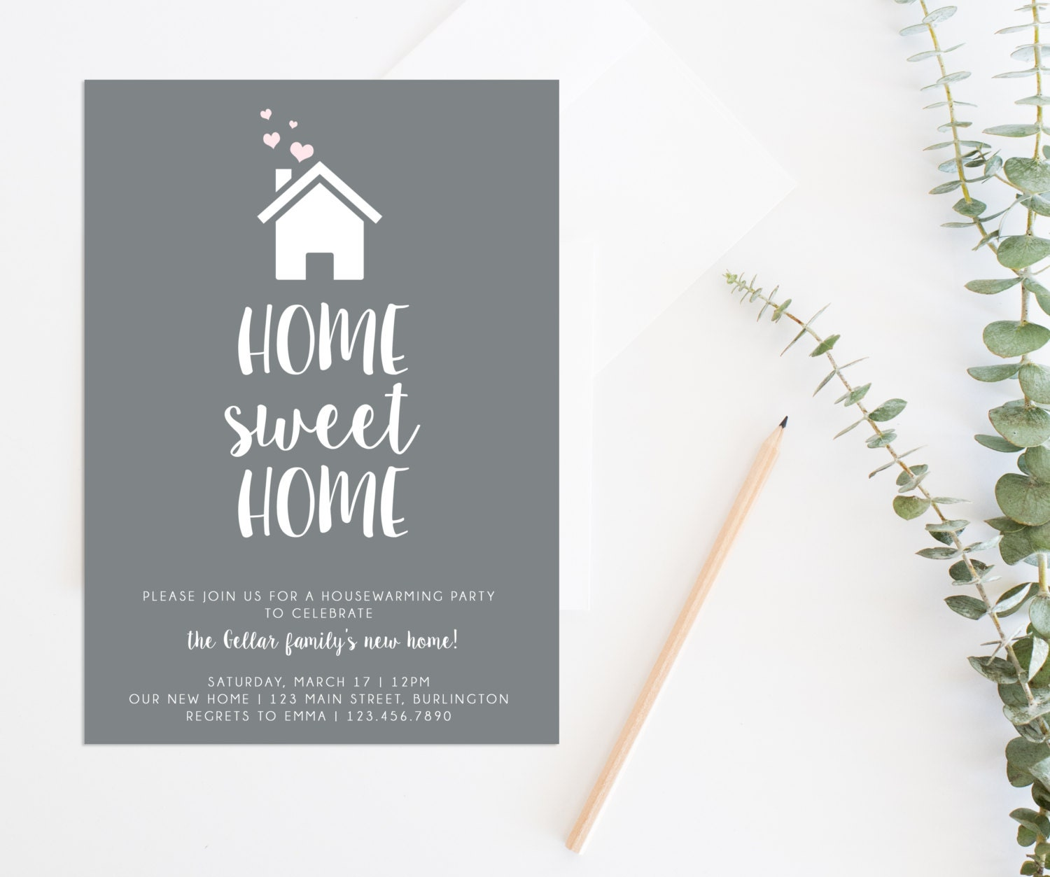 Comfortable Free Housewarming Invitations Templates Ideas ...