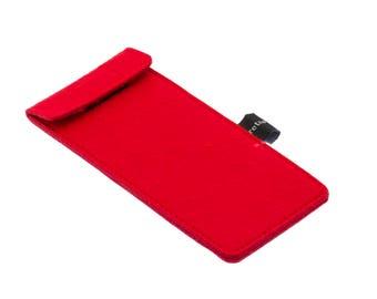 Red Felt Case