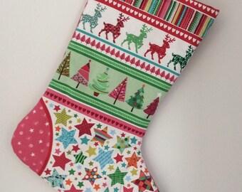 Christmas stocking - scandi style