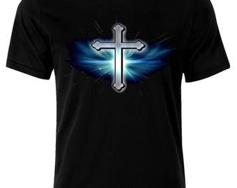 Jesus Christ Cross Christianity Jesus Christus Kreuz Christen T-Shirt