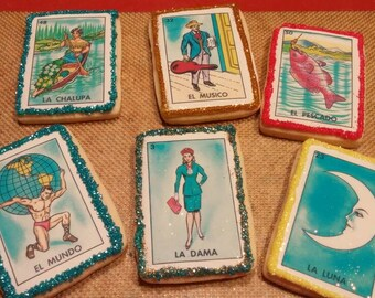 Mexican Loteria Sugar Cookies