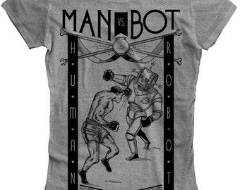SALE: Man Vs. Bot (Ladies) - SALE