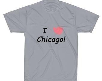 I HEART Chicago Performance T-Shirt