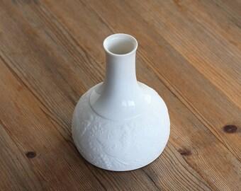 Beautiful vintage Bisque White Vase Björn Wiinblad Rosenthal Germany
