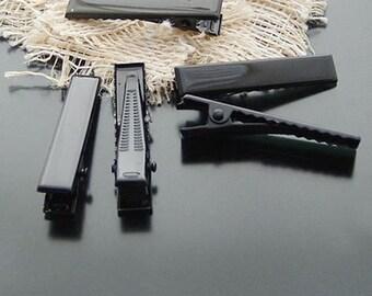 Black Barrette Hairpins H16038