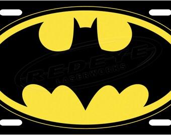 Batman License Plate Tag