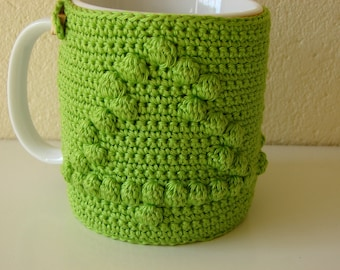 Crochet pattern mug cozy | crochet pattern Christmas tree | mug cozy Christmas | crochet pattern cup cozy | pattern cup cozy tree | cozy