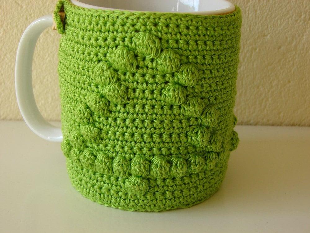 Crochet pattern mug cozy | crochet pattern Christmas tree | mug cozy ...