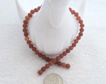5 mm Czech Milky Caramel Glass Beads (1708)