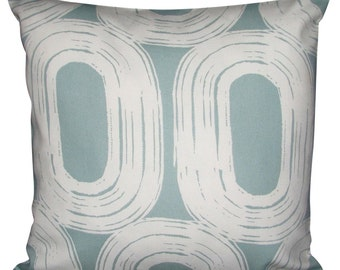 Scion Loop Duck Egg Blue Cushion Cover