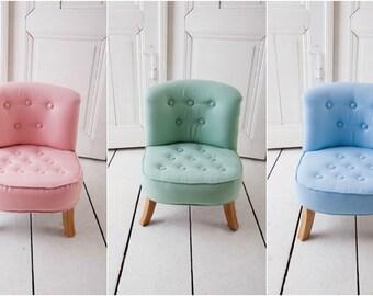 Children Nursery Chair Kids Chair DIFFERENT Color Toddler Room Children  Furniture Child Room Child Stool LINEN