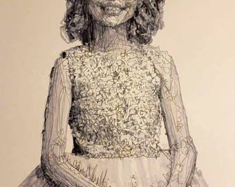 Child In Dress