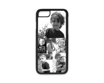 iPhone 8 Case, Photo Phone Case, Silicone Custom iPhone Case Personalized With Your Photo Fits iPhone 6 Case, iPhone 6 Plus, 6s Case