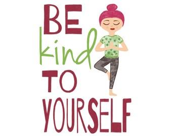 Be Kind Art Print - Jennifer Reid