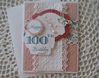 Handmade Greeting Card: Happy Birthday
