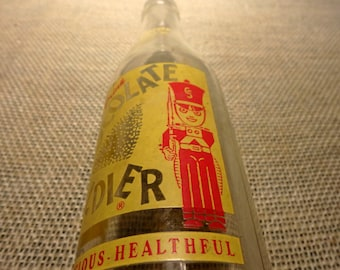Chocolate Soldier Drink Bottle - Schiller Park, Illinois - Yellow and Red -