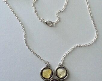 Mix Gems Chain Necklace