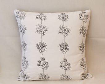 Primula stripe cushion