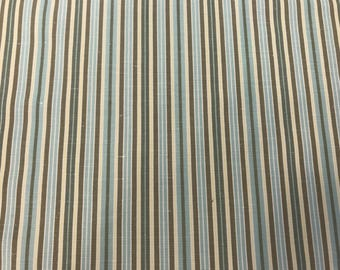 Palmer Stripes On 100% Mid-Weight Cotton, By Waverly Fabrics