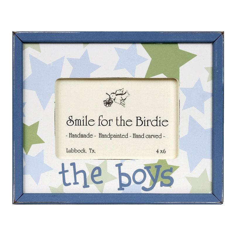 The Boys Frame Boys Decor Gift For Boys Picture Frame
