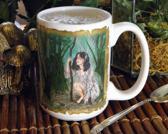 Faerie Guide 15 oz coffee mug