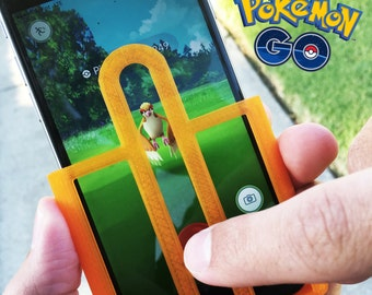 Pokemon Go Aim Assist Case for iPhone & Samsung Phones | Great Stocking Stuffer | Pokemon Game Accessory