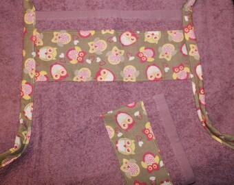 Large apron sponge to wipe baby owls Parma