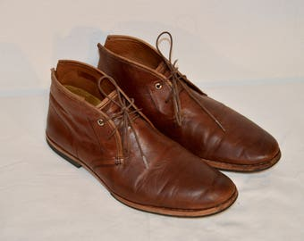 Men Size 12 Vintage Timberland Ankle Chukka Boots