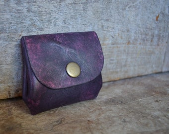 Leather Purses Purple/Red/Pink/Blue