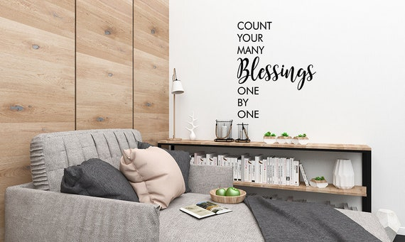 Living Room Wall Decals Living Room Decal Count Your