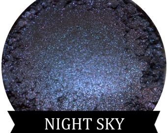 Smokey Midnight Blue Eyeshadow NIGHT SKY