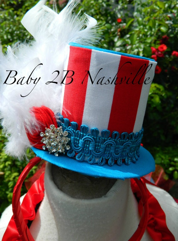 Circus Ringmaster Top Hat Fascinator Top Hat for Birthdays  Mini Top Hat Hair Accessory